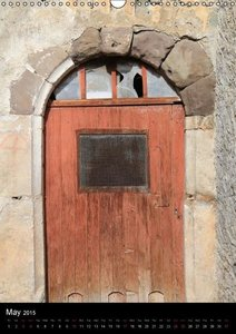 Rustic French Doors (Wall Calendar 2015 DIN A3 Portrait)