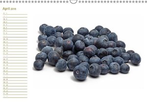 Leckere Früchte / Geburtstagskalender (Wandkalender 2016 DIN A3