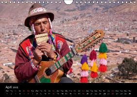 Peru - from the Andes to the Amazon / UK-Version (Wall Calendar - zum Schließen ins Bild klicken