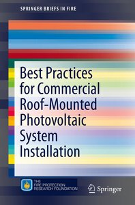 Best Practices for Commercial Roof-Mounted Photovoltaic System I