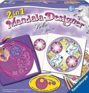 Ravensburger 29880 - Bella Sara: 2in1 Mandala-Designer