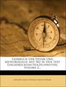 Lehrbuch der Physik und Meteorologie: zweiter Band