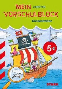 Mein liebster Vorschulblock; Konzentration. Piratenschiff