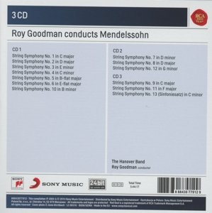 Roy Goodman Conducts Mendelssohn String Symphonies