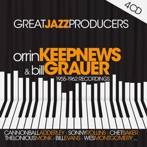 Great Jazz Prod.:O.Keepnews & B.Grauer-1955-62 Rec