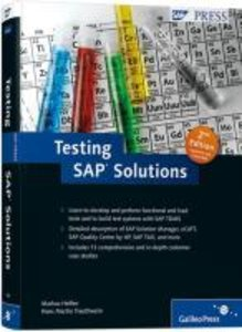 Testing SAP Solutions