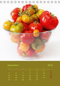 Tomaten - Alles BIO! (Tischkalender 2016 DIN A5 hoch)