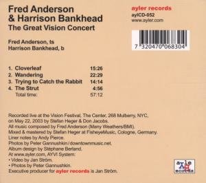 The Great Vision Concert