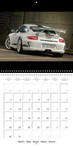 Porsche 911 GT3 RS 4.0 (Wall Calendar 2015 300 × 300 mm Square)