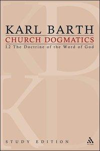 Barth, K: Church Dogmatics Study Edition 3