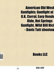 American Old West gunfights