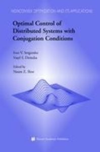 Optimal Control of Distributed Systems with Conjugation Conditio