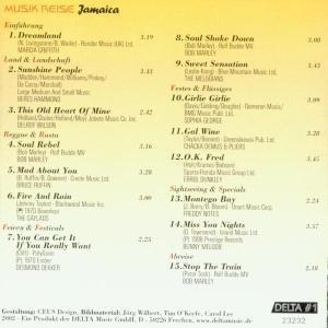 Musikreise Jamaica