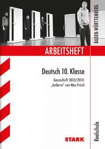 Training Abschlussprüfung Deutsch 10. Klasse. Realschule Baden-W