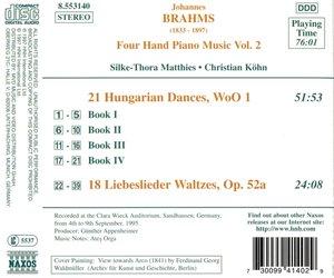 Vierhändige Klaviermusik Vol.2