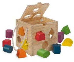 Eichhorn 100002092 - Holz Steckwürfel
