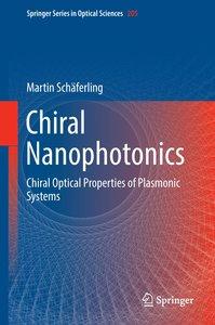 Chiral Nanophotonics