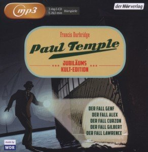 Paul Temple Jubiläums-Kult-Edition (MP3)
