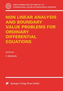 Non Linear Analysis and Boundary Value Problems for Ordinary Dif
