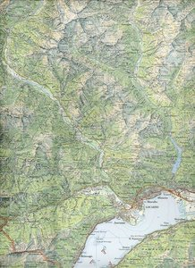 Swisstopo 1 : 100 000 Ticino Tessin