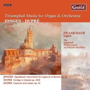 Jongen:Dupre Orgel+Orchester
