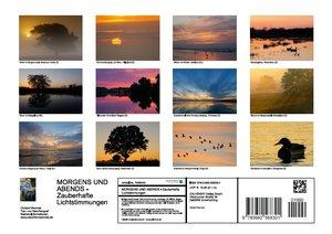 MORGENS UND ABENDS - Zauberhafte Lichtstimmungen (Posterbuch DIN