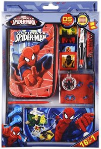 Zubehör Set 16in1 Ultimate Spiderman für Nintendo DS Lite i XL 3