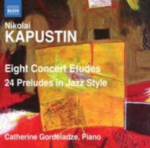 Acht Konzertetüden/24 Preludes