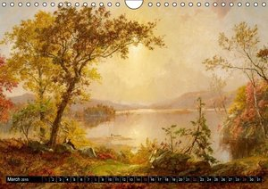 Landscapes - Paintings by old masters (Wall Calendar 2015 DIN A4