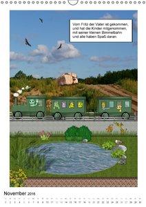 Die Abenteuer der kleinen Raupen (Wandkalender 2016 DIN A3 hoch)