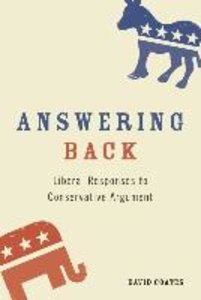 Answering Back: Liberal Responses to Conservative Arguments