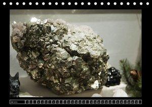 Crystals - Kristallmuseum Riedenburg (Tischkalender 2016 DIN A5