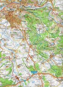 Kulmbach 1 : 35 000 Wanderkarte