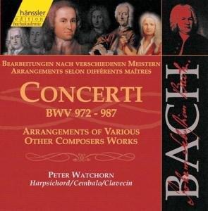 Concerti BWV 972-987