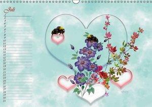 Liebe bedeutet Leben (Wandkalender 2016 DIN A3 quer)