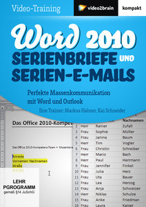 Word 2010: Serienbriefe und Serien-E-Mails