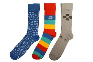 PlayStation - Socken Set 3er-Pack, One Size EU 39-46 (Offiziell