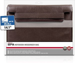 Speedlink SEPYA Notebook Messenger Bag, Tasche, 14,1/35,8cm, bra