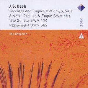 Toccata&Fuge BWV 565,540&528/Prelude&Fuge BWV 543/