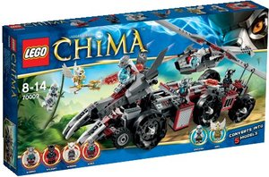 LEGO® Legends of Chima 70009 - Worrizgroßer Wolfstruck