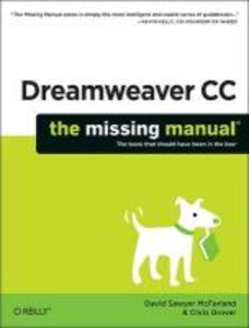 McFarland, D: Dreamweaver CC: The Missing Manual