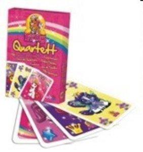 Noris 606266973 - Filly Quartett, Kartenspiel