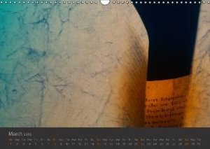 Ars Poetica - Illuminated Pages (Wall Calendar 2015 DIN A3 Lands