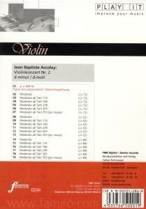 Violinenkonzert Nr. 2, d-moll