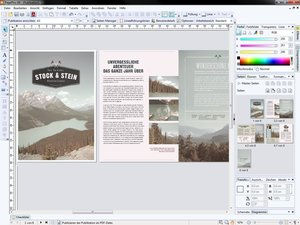 Serif PagePlus X8 - Desktop-Publishing