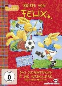 Briefe von Felix 2er Schuber(Dschungelkind&Fußball