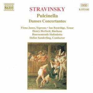 Pulcinella/Danses Concertantes