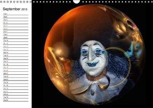 Masks in Basel (Wall Calendar 2015 DIN A3 Landscape)