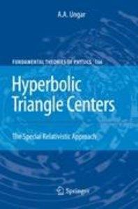 Hyperbolic Triangle Centers