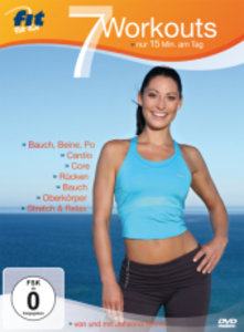 Fit for Fun - 7 Workouts - nur 15 Minuten am Tag